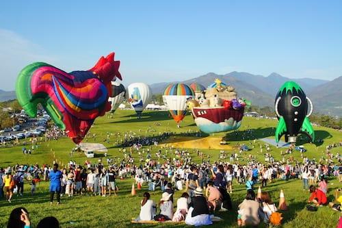 台湾国际热气球嘉年华将在台东鹿野高台热闹登场