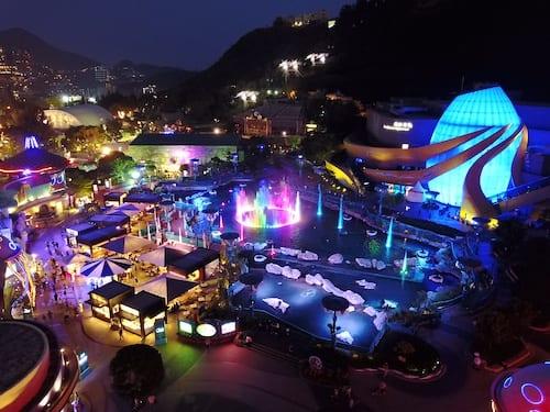 香港海洋公园歌酒节2018正式开幕