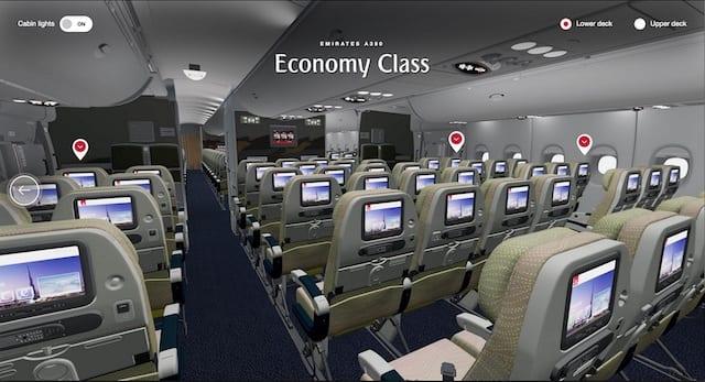 阿联酋航空官网业内首推虚拟现实机舱体验