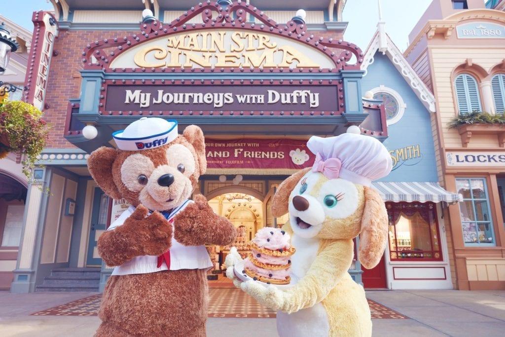 杜飞新朋友Cookie于香港迪士尼首度登场