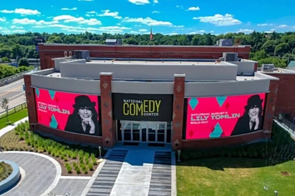 纽约州美国国家喜剧中心正式开放