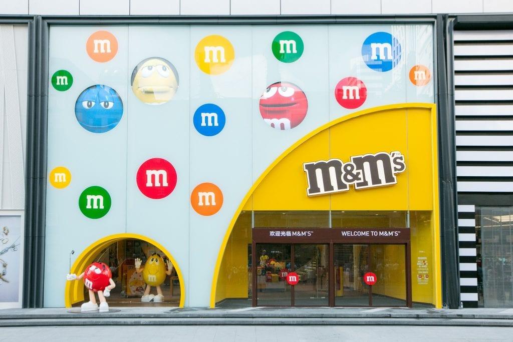 M豆巧克力世界以崭新面貌在上海重新对外营业