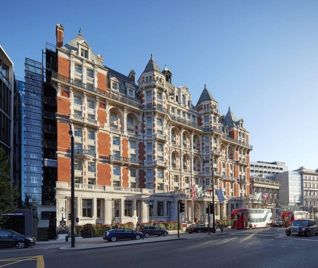 伦敦海德公园文华东方酒店将于2019年春季全面营业