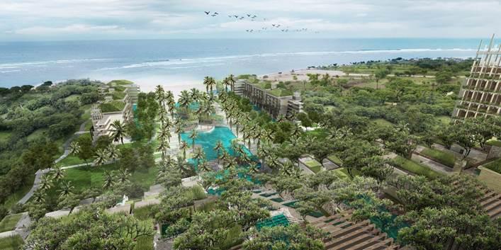 巴厘岛阿普尔瓦凯宾斯基度假酒店明年初开门迎客