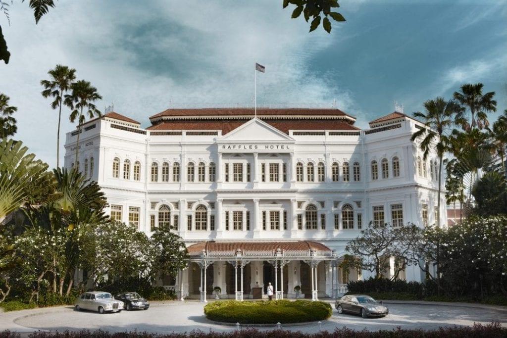 新加坡莱佛士酒店开始接受套房预订