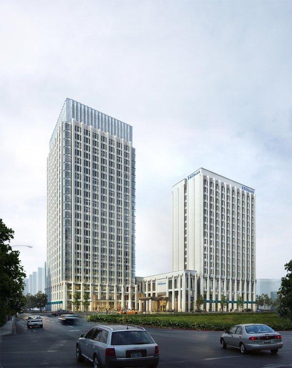 希尔顿加强在蓉布局 成都协信中心希尔顿酒店开业