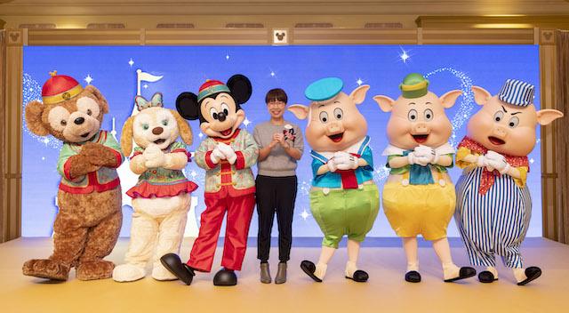 香港迪士尼推广新年奇妙家之旅
