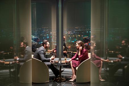 迪拜哈利法塔全球最高休息室正式开放