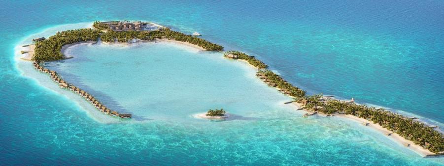 马尔代夫伊塔富士岛华尔道夫度假村即将揭幕
