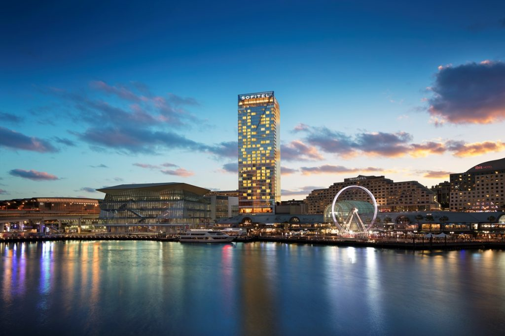 达令港索菲特酒店填补悉尼高星酒店的空白