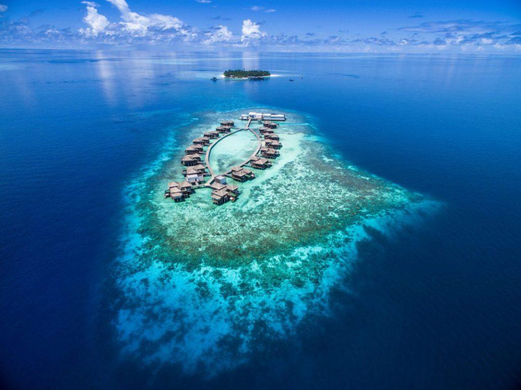 """莱佛士品牌进驻""""马尔代夫绿洲"""" 卡夫阿里夫环礁"""