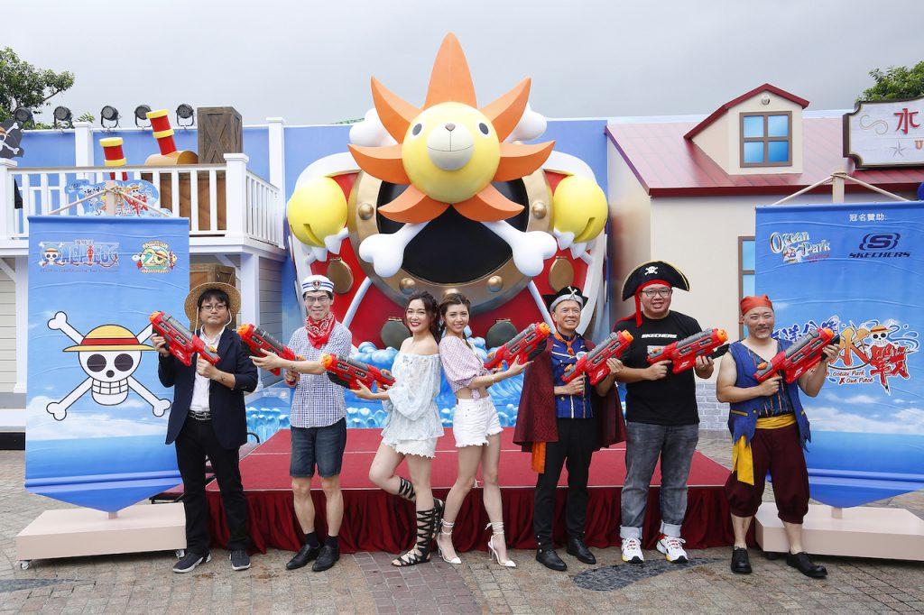 携手日本动画航海王 香港海洋公园夏水战正式启动