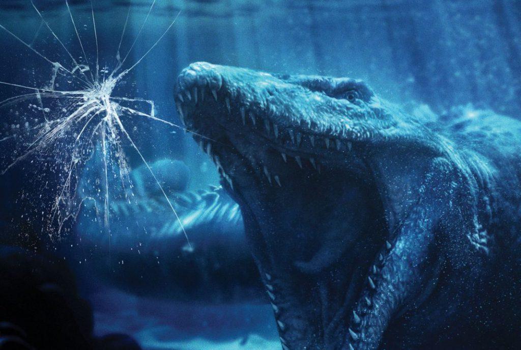 """好莱坞环球影城""""侏罗纪世界--激流勇进""""正式开园"""