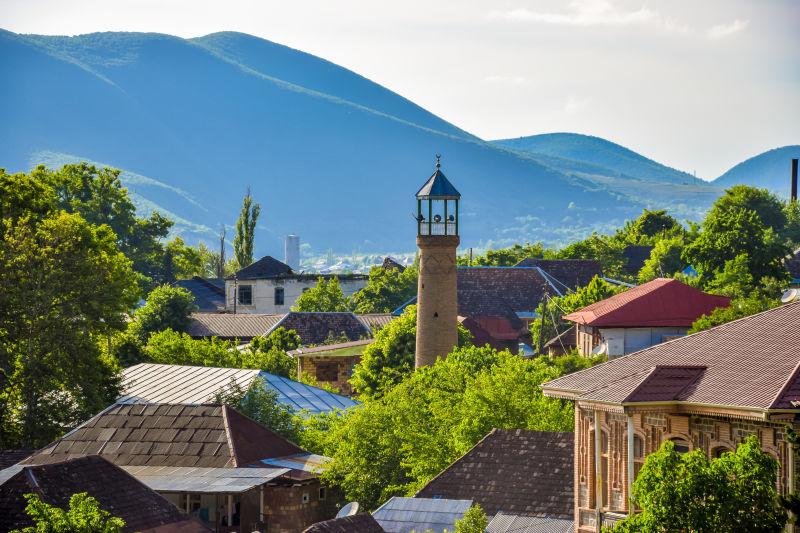 阿塞拜疆舍基历史中心及舍基汉宫殿列入世界遗产