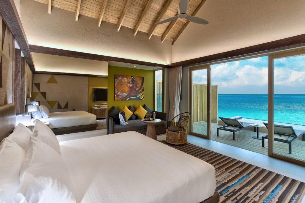 马尔代夫硬石酒店开业 打造难忘音乐住宿体验
