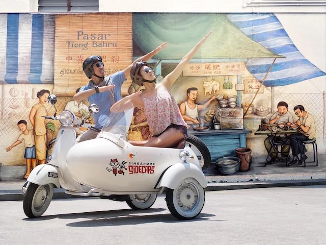 新加坡文华东方酒店携手小绵羊边车推出全新文化体验
