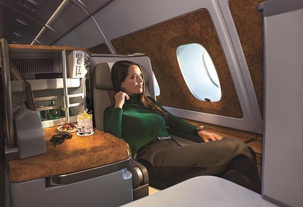 阿联酋航空面向中国市场推出全新商务舱特价机票