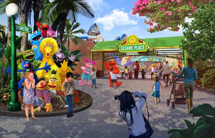 圣地亚哥芝麻街主题乐园将于2021年春季开放