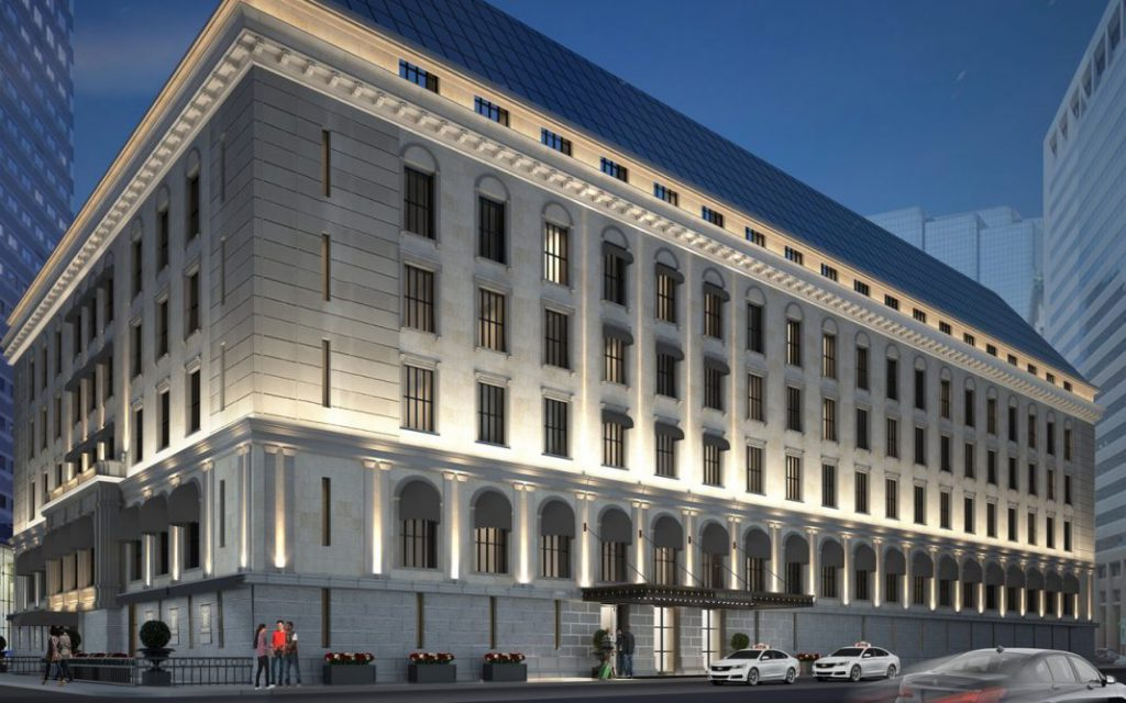 波士顿朗廷酒店进行历史性翻新工程