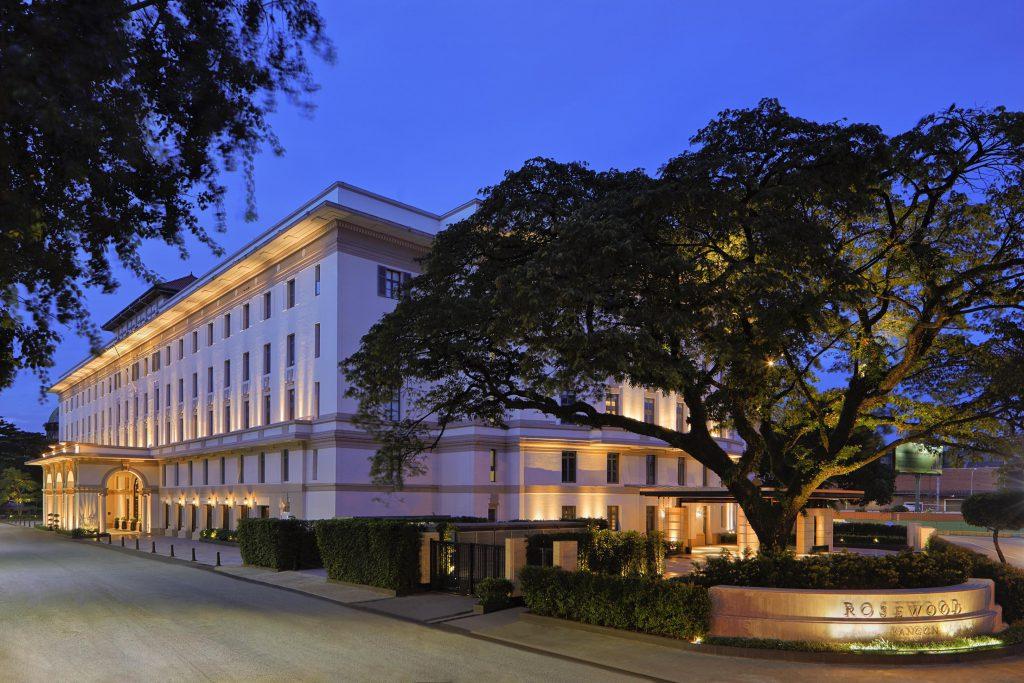仰光瑰丽酒店揭幕 展现当代缅甸风情
