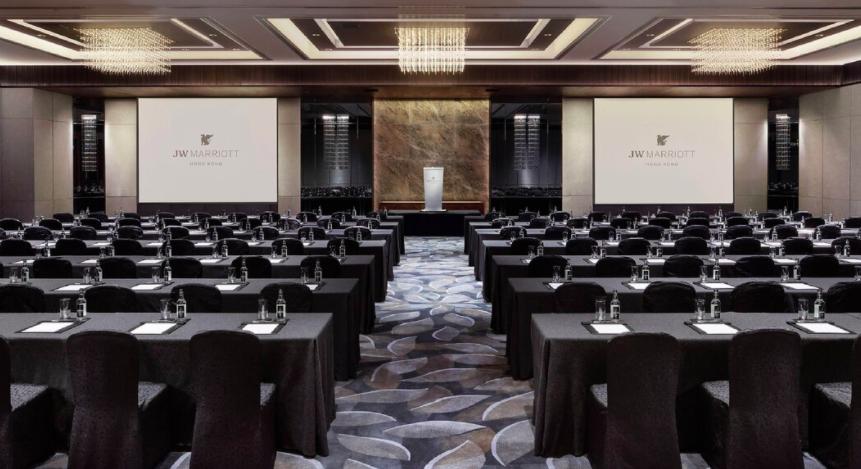 香港JW万豪酒店推出混合型会议活动