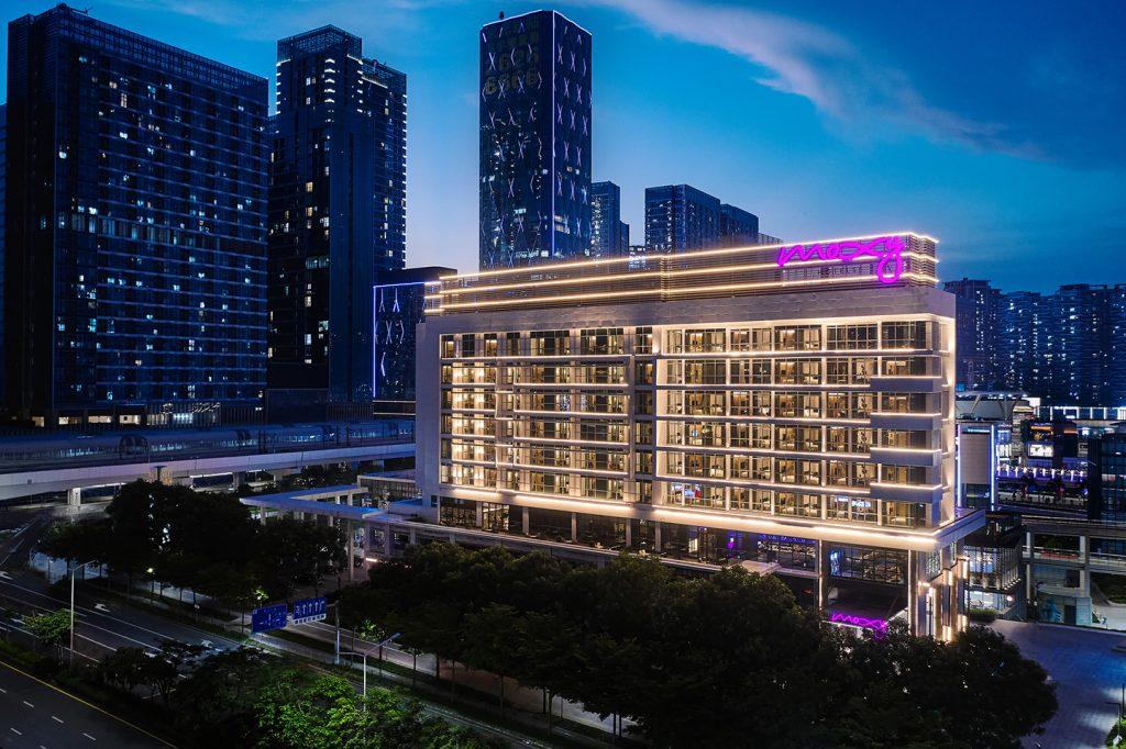 万豪中国第二家Moxy酒店进驻深圳